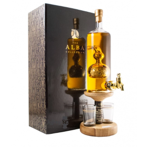 Barley Tap and Two Glasses - 350ml (Stylish Whisky) 40%