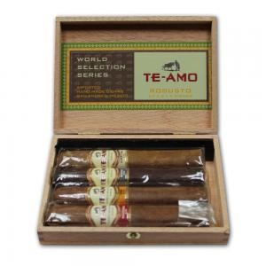 Te-Amo World Series Sampler – Selection Robusto - 4 Cigars