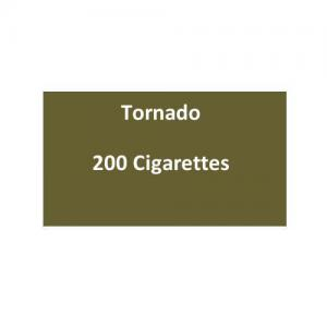 Tornado Kingsize Cigarettes - 10 packs of 20 cigarettes (200)