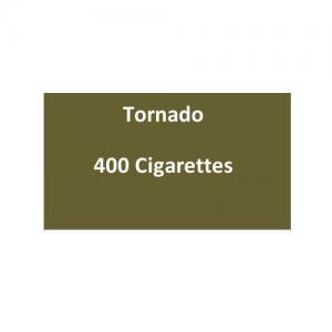 Tornado Kingsize Cigarettes - 20 packs of 20 cigarettes (400)
