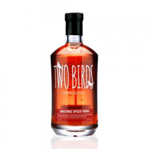 Two Birds Christmas Spiced Vodka - 70cl 32%