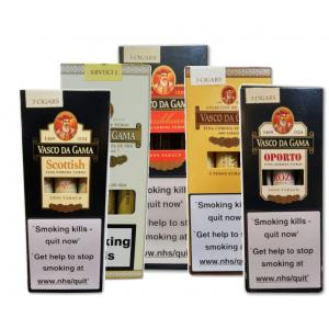 Vasco Da Gama Sampler Pack - 5 x 3 packs (15 cigars)