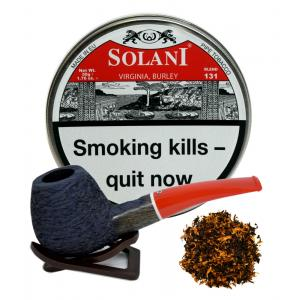 Solani Virginia Burley (Red label) Pipe Tobacco - 50g Tin
