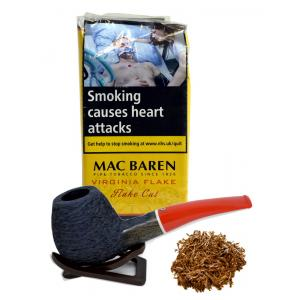 Mac Baren Virginia Flake Pipe Tobacco 050g (Pouch)