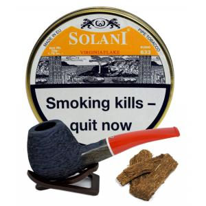 Solani Virginia Flake (Yellow label) Pipe Tobacco 50g Tin