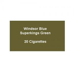 Windsor Blue Superkings Green - 1 Pack of 20 Cigarettes (20)