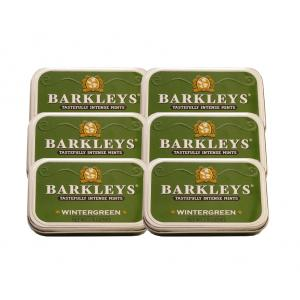 Barkleys Mints - Wintergreen Tin 50g - 6 x 50g (300g)