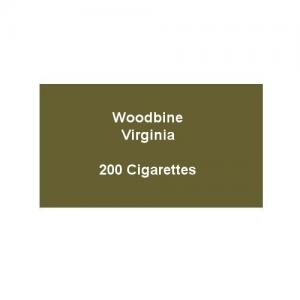 Woodbine Virginia - 10 Pack of 20 Cigarettes (200)