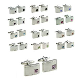 Birthstone Personalised Cufflinks