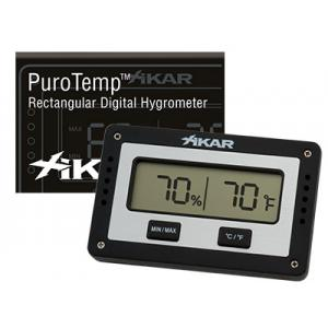 Xikar Digital Hygrometer - Rectangular