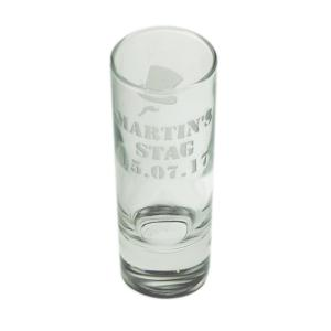 Stag Night Party Personalised Shotglass