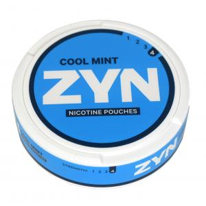 Zyn Tobacco Free Nicotine Pouch Cool Mint 6mg Can